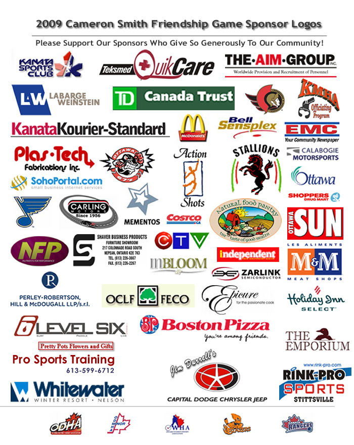 2009 Sponsors